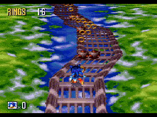 Review – Mega Drive) Sonic 3D Blast   The Twosday Code