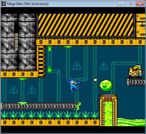 Vale colocar monstros assim em Mega Man?